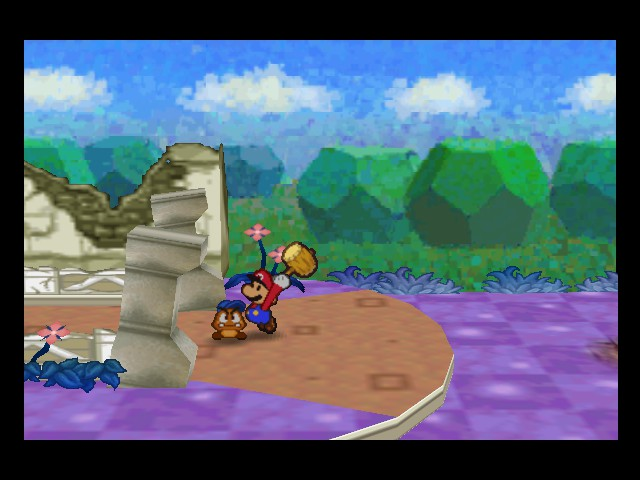 Paper Mario - Misc  - stop following me! - User Screenshot